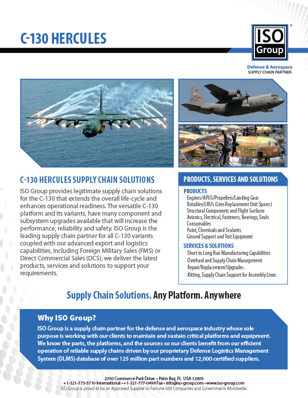 Defense and Aerospace Supply Chain Partner