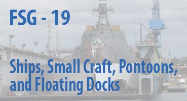 Ships, Small Craft, Pontoons, and Floating Docks