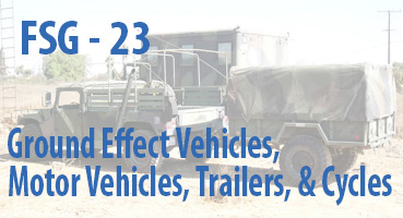 Ground Effect Vehicles, Motor Vehicles, Trailers, and Cycles