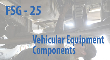 Vehicular Equipment Components