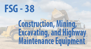Construction, Mining, Excavating, and Highway Maintenance Equipment