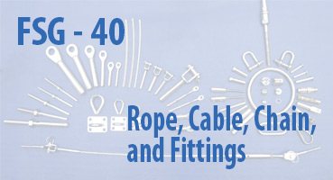 Rope, Cable, Chain, and Fittings