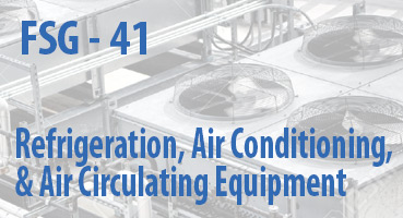 Refrigeration, Air Conditioning, and Air Circulating Equipment