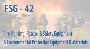 Fire Fighting, Rescue, and Safety Equipment; and Environmental Protection Equipment and Materials