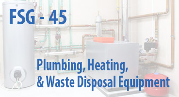 Plumbing, Heating, and Waste Disposal Equipment