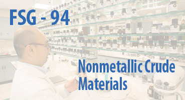 Nonmetallic Crude Materials