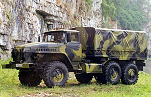 URAL-4320 Spare Parts, Services, and Solutions