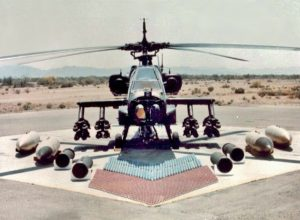 Ah-64 Apache Combat Helicopter